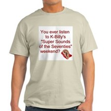 K-Billy's Super Sounds Ash Grey T-Shirt