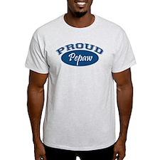 Proud Pepaw (blue) T-Shirt