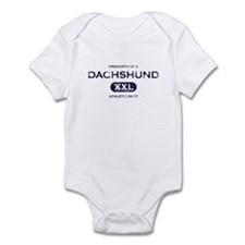 Property of Dachshund Baby Bodysuit