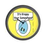 Krappy Hour Wall Clock