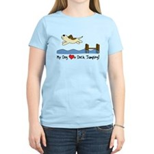 Cartoon Dock Jumping T-Shirt
