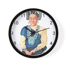Wall Clock - Squash Blossom
