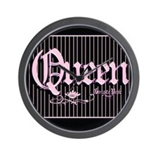 Queen BBB Wall Clock