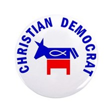 "Christian Democrat 3.5"" Button (100 pack)"