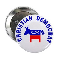 "Christian Democrat 2.25"" Button (10 pack)"