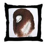 Jacobin Pigeon Throw Pillow