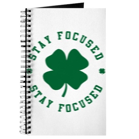 Irish Stay Focused Journal