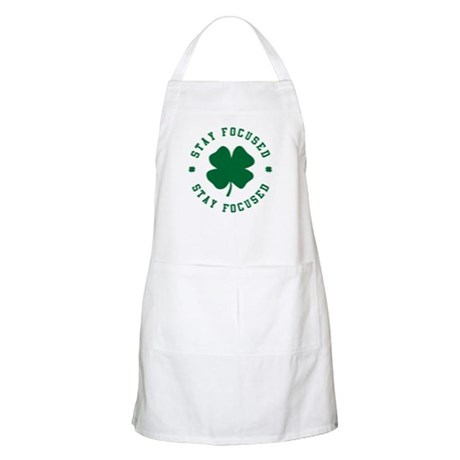 Irish Stay Focused Apron