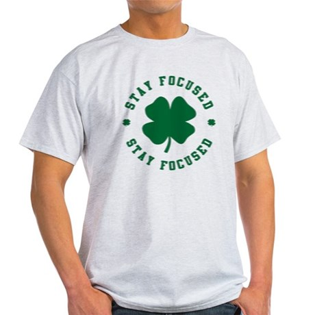 Irish Stay Focused Light T-Shirt