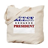 REESE for president Tote Bag