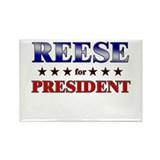 REESE for president Rectangle Magnet