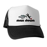 man down ponger Trucker Hat