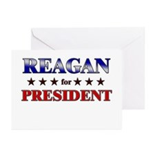REAGAN for president Greeting Cards (Pk of 20)