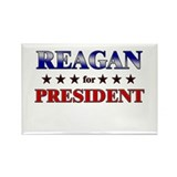 REAGAN for president Rectangle Magnet