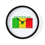 Senegal Senegalese Flag Wall Clock