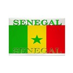 Senegal Senegalese Flag Rectangle Magnet (100 pack