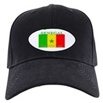 Senegal Senegalese Flag Black Cap