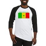 Senegal Senegalese Flag Baseball Jersey