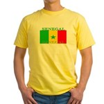 Senegal Senegalese Flag Yellow T-Shirt