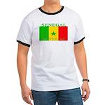 Senegal Senegalese Flag Ringer T