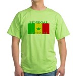 Senegal Senegalese Flag Green T-Shirt
