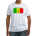 Senegal Senegalese Flag Fitted T-Shirt