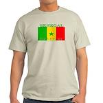 Senegal Senegalese Flag Light T-Shirt