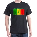 Senegal Senegalese Flag Dark T-Shirt