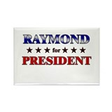 RAYMOND for president Rectangle Magnet (10 pack)