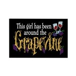 Grapevine Rectangle Magnet (100 pack)