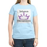 It's Good to be the QUEEN in Purple Women's Pink T