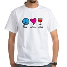 Peace Love Wine Shirt