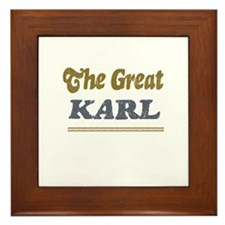 Karl Framed Tile