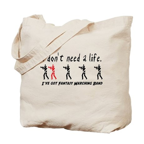 Fantasy Marching Band Tote Bag