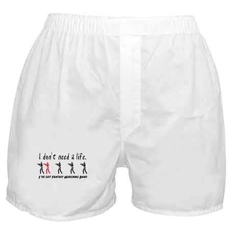 Fantasy Marching Band Boxer Shorts