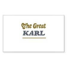 Karl Rectangle Decal
