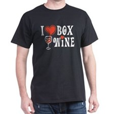 I Heart Box Wine T-Shirt