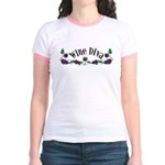 Wine Diva Jr. Ringer T-Shirt