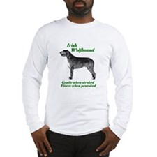 Cool Irish wolfhound Long Sleeve T-Shirt
