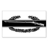 Combat Infantry Badge Rectangle Decal