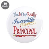 "Incredible Principal 3.5"" Button (10 pack)"