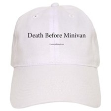 Death Before Minivan Baseball Cap