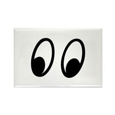Moon Eyes Rectangle Magnet