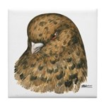 Modena Pigeon Tile Coaster