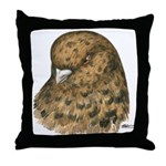 Modena Pigeon Throw Pillow