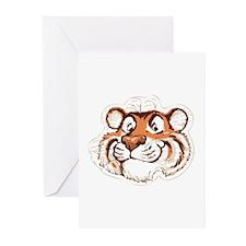 Tiger Smile Greeting Cards (Pk of 10)