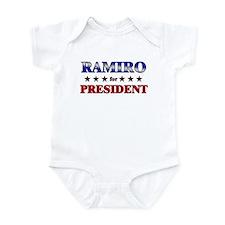 RAMIRO for president Infant Bodysuit