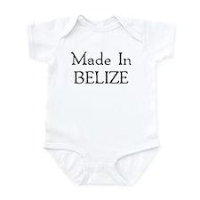 Made In Belize Onesie