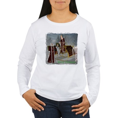 Mr 'N Mrs Claus Women's Long Sleeve T-Shirt