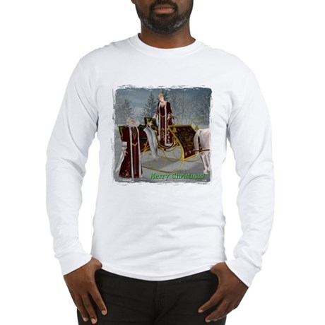 Mr 'N Mrs Claus Long Sleeve T-Shirt